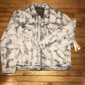 ROCK REVIVAL Devin Denim Stretch Jacket size 3xl